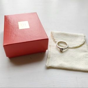 James Avery Remembrance Ring in White Sapphire